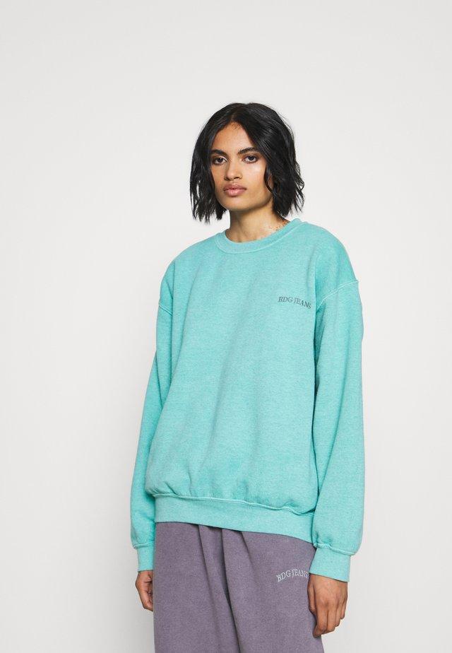 CREWNEWCK  - Bluza - turquoise