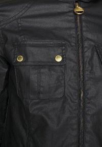 Barbour International - THUNDERBOLT CASUAL - Summer jacket - black - 6