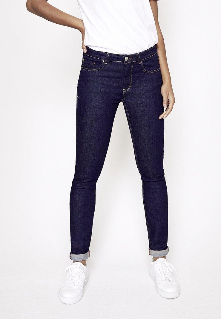 Five Fellas - GRACIA - Slim fit jeans - dunkelblau