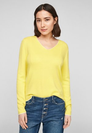 Jumper - lime yellow
