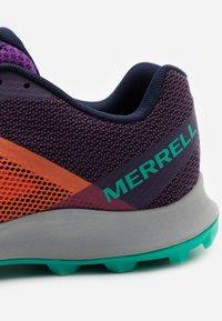 Merrell - MTL SKYFIRE - Trail running shoes - goldfish - 5