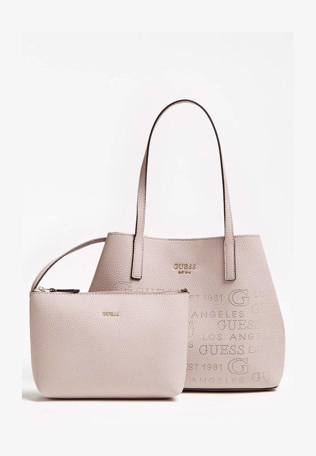 VIKKY TOTE SET - Handbag - rose clair