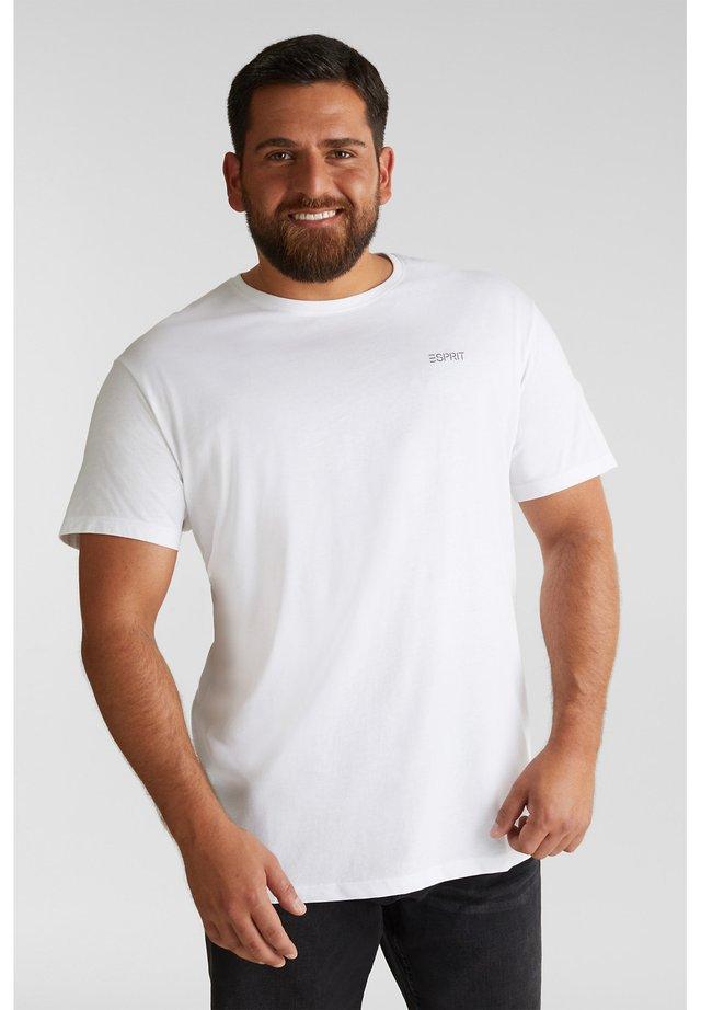 2SET - Basic T-shirt - white 3