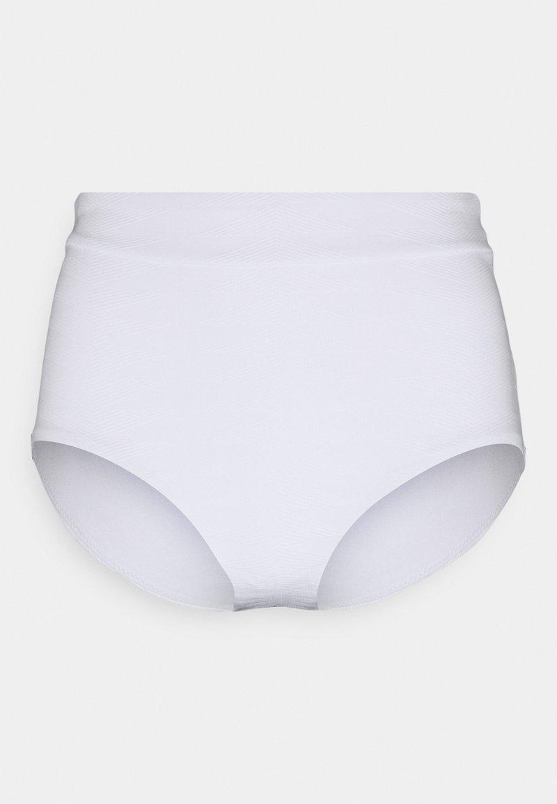 Seafolly - SEASIDE SOIREE HIGH WAISTED PANT - Bikini bottoms - white