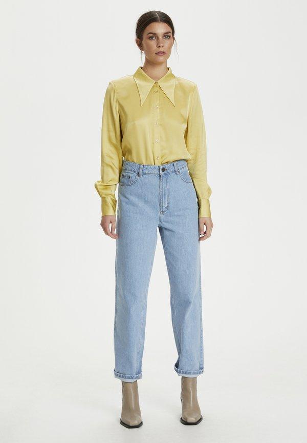 Gestuz Koszula - yellow/żÓłty NEFY