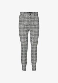 Vero Moda - KARO - Trousers - black - 4