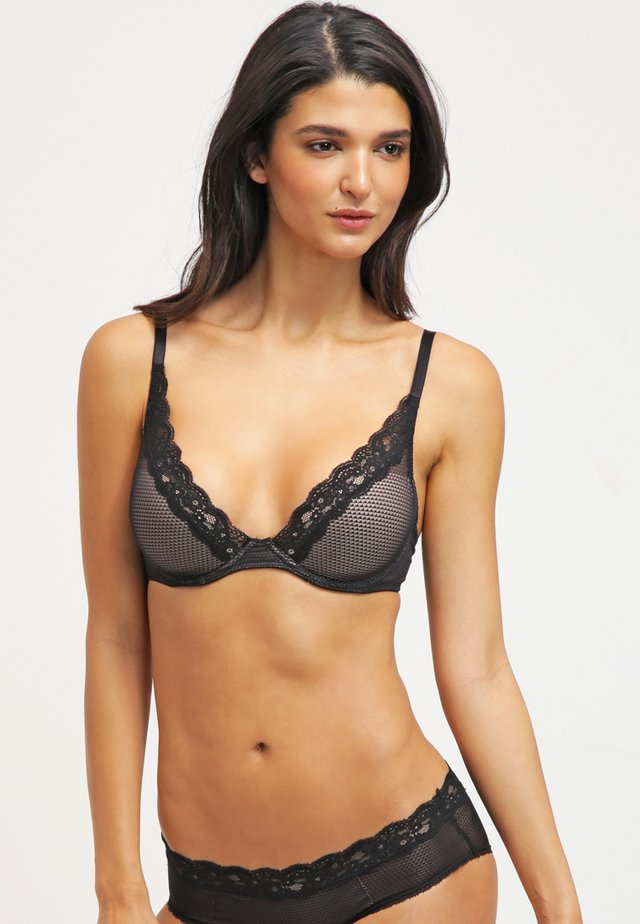 BROOKLYN - Underwired bra - schwarz
