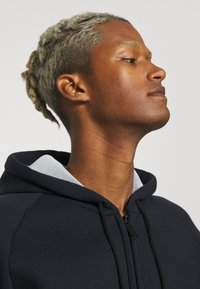 Carhartt WIP - CAR LUX HOODED JACKET - Sweater met rits - dark navy/grey - 3