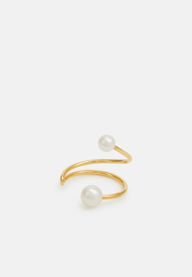 IRIS EARCLIP LONG - Orecchini - gold-coloured