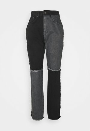 EQUILIBRIUM - Straight leg jeans - charcoal/grey