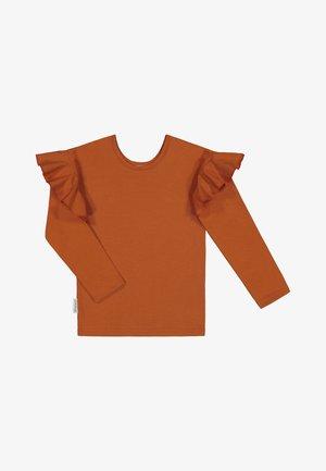 FRILLA - Långärmad tröja - velvet teddy