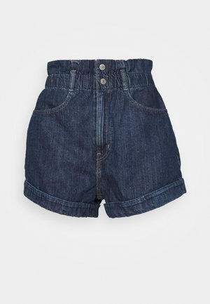 HR PAPERBAG SHORT - Denim shorts - fused