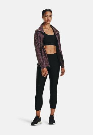 TWIST FULL ZIP TWIST - Sweater met rits - mauve