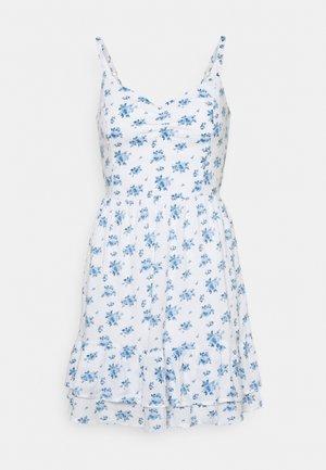 BARE SHORT DRESS - Robe d'été - white