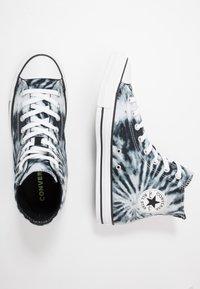 Converse - CHUCK TAYLOR ALL STAR - Korkeavartiset tennarit - black/lemongrass/white - 1