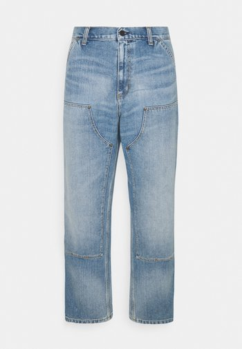 DOUBLE KNEE PANT MAITLAND - Relaxed fit jeans - blue light