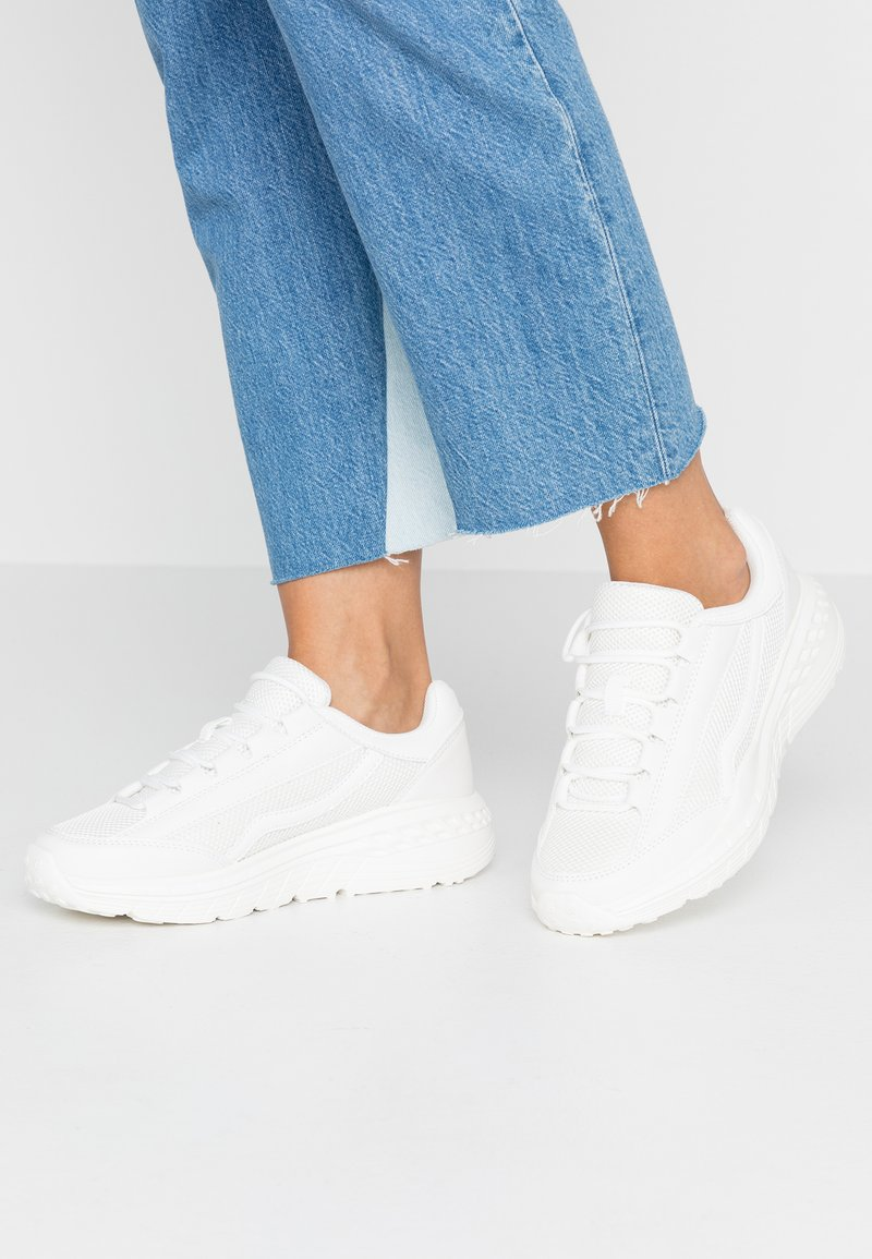 Rubi Shoes by Cotton On - TORI WEDGE TECH - Trainers - white