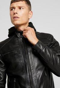 Serge Pariente - NILS  - Leather jacket - black - 4