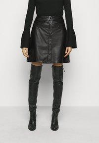 RIANI - Mini skirt - black - 0