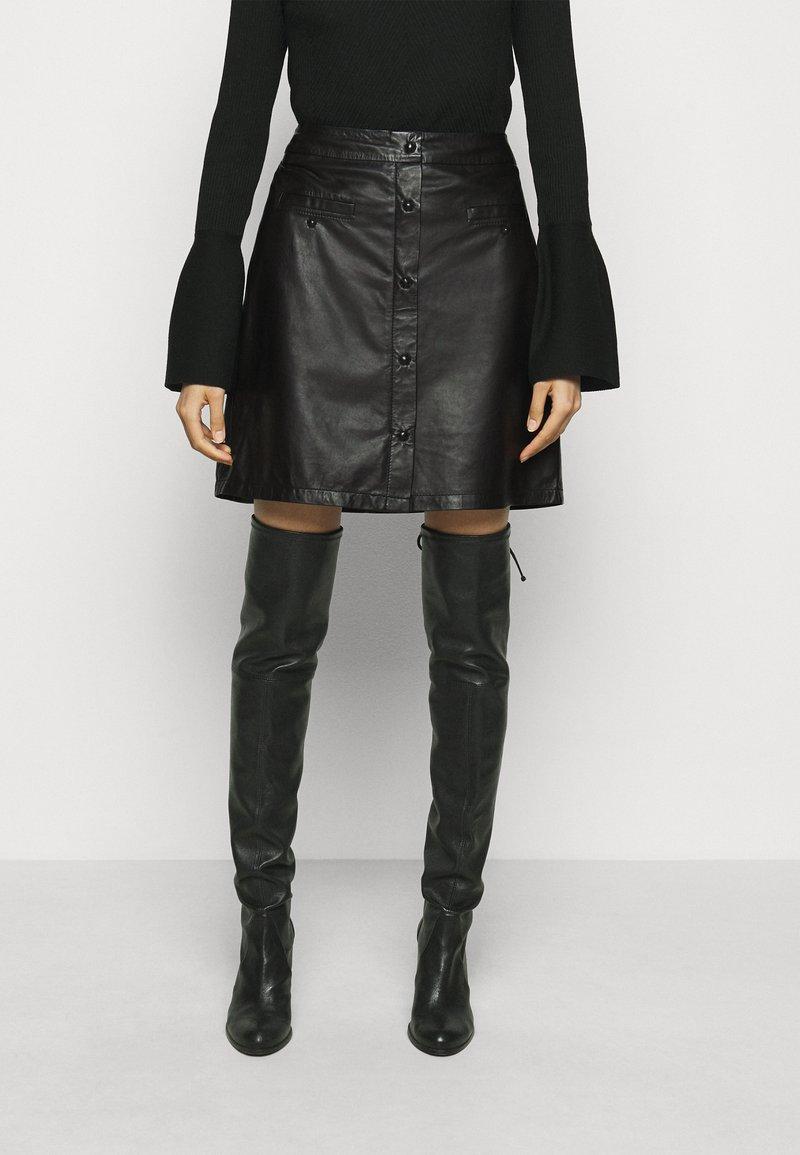 RIANI - Mini skirt - black