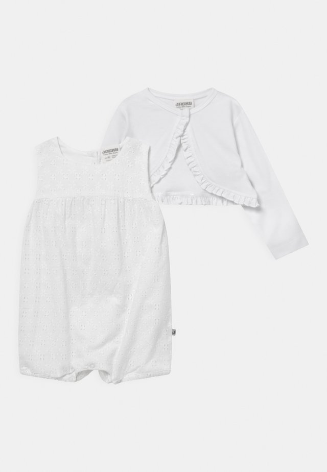 FESTLICH SET  - Cardigan - weiß