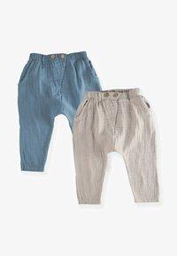 Cigit - PACK MUSLIN  SET - Cargo trousers - blue - 0
