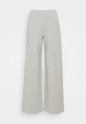 TAILORED WILD LEG PANTS - Pyjama bottoms - grey melange