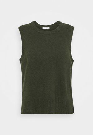 ZENIE VEST - Jumper - army green
