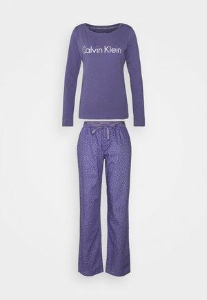 IN A BAG PANT SET - Pyjama set - bleached denim