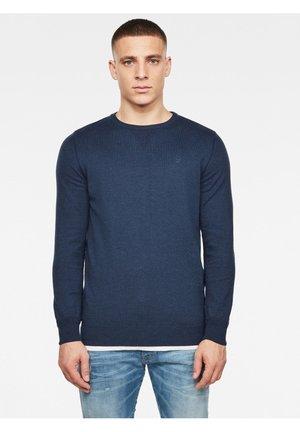 PREMIUM BASIC - Pullover - sartho blue htr