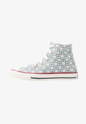 CHUCK TAYLOR ALL STAR LITTLE MISS - Sneakers hoog - washed denim/garnet/midnight navy