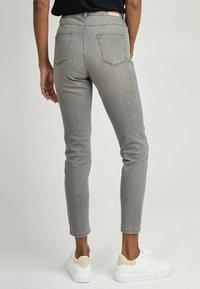 NAF NAF - Slim fit jeans - grey - 2