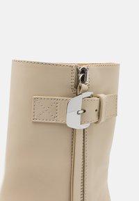 Proenza Schouler - Platform ankle boots - butter - 6