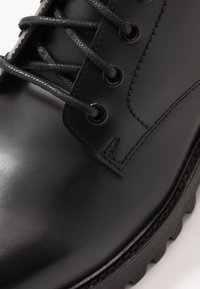 Walk London - SEAN LACE UP BOOT - Lace-up ankle boots - black - 5