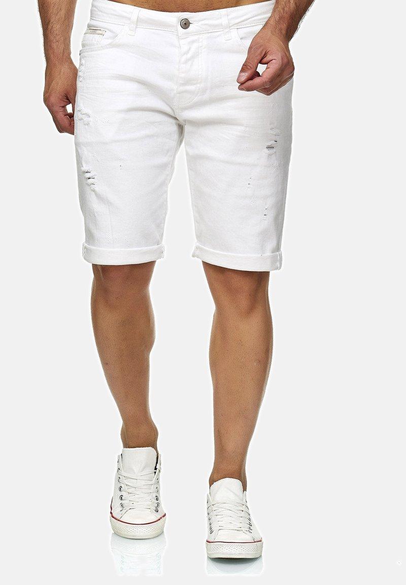 Red Bridge - LEXINGTON - Denim shorts - weiß