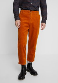 Suit - TOBY CORDUROY - Broek - burned yellow - 0