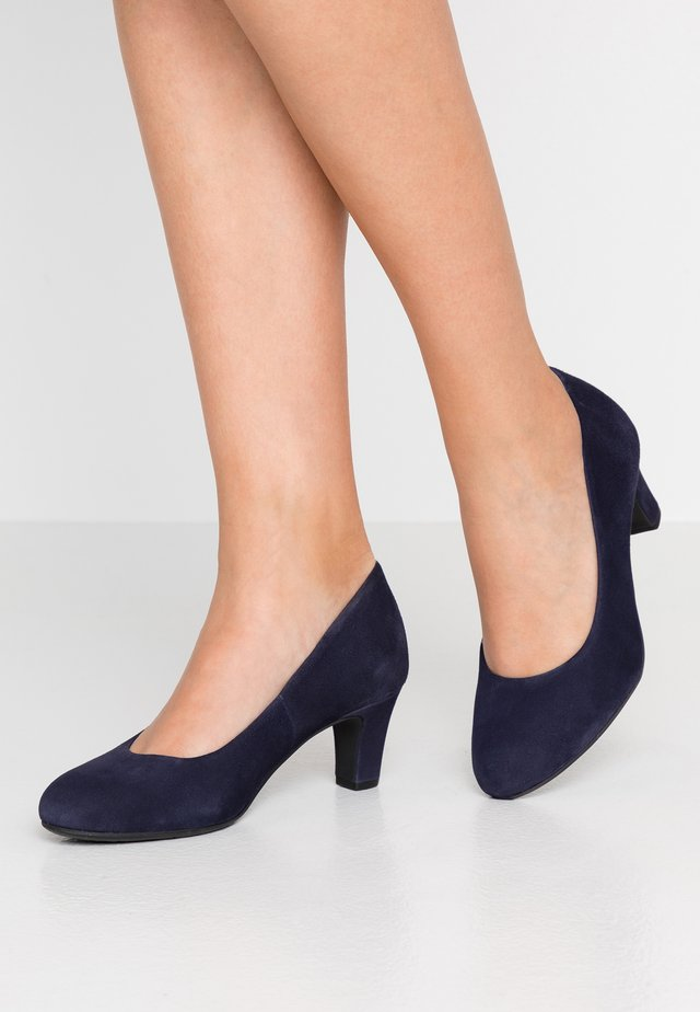 PUMPS - Classic heels - dark blue