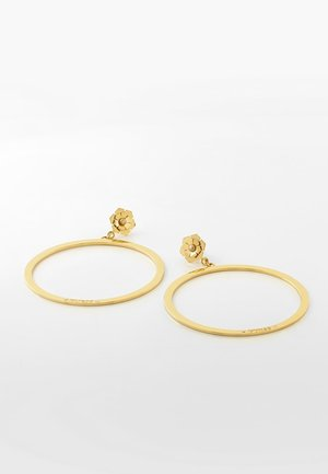 "BOUCLES D'OREILLES ""GUESS PEONY"" - Earrings - gold"