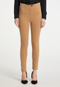 DreiMaster - Leggings - Trousers - beige - 0