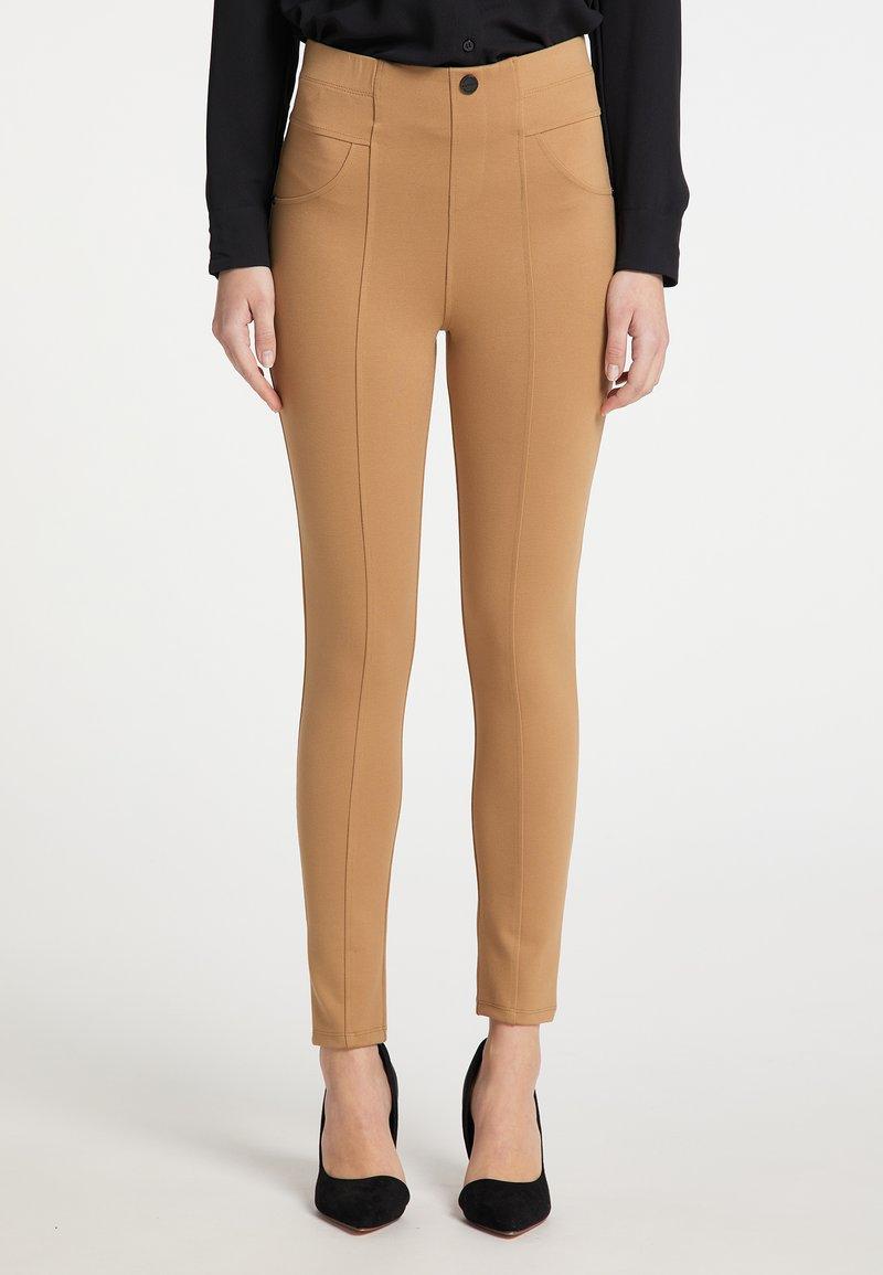 DreiMaster - Leggings - Trousers - beige