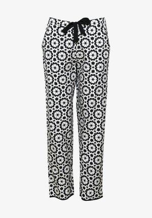 Pyjama bottoms - black floral
