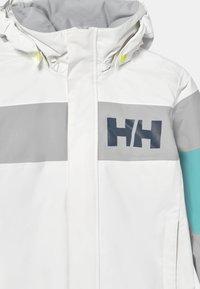 Helly Hansen - SALT PORT UNISEX - Outdoor jacket - white - 3