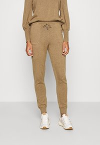 Lounge Nine - CADENCELN PANTS CASUAL - Trousers - incense melange - 0