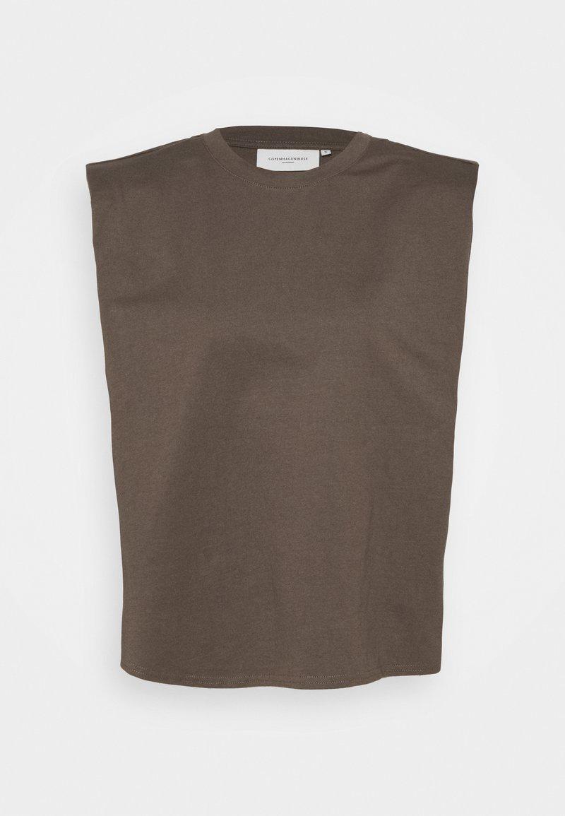 Copenhagen Muse - TEE - Top - major brown