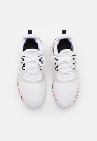 Reebok - FLASHFILM TRAIN 2.0 - Zapatillas de entrenamiento - footwear white/core black/vector red - 3