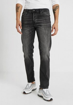 JJIMIKE JJORIGINAL - Jeansy Straight Leg - black denim