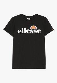 Ellesse - MALIA - Camiseta estampada - black - 0