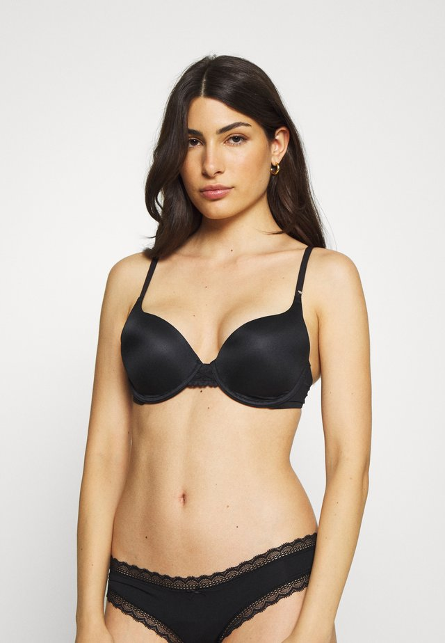 DREAM WIRE PUSH UP BRA - Push-up podprsenka - black