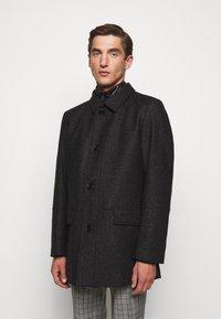 HUGO - BARELTO - Klasický kabát - black - 0