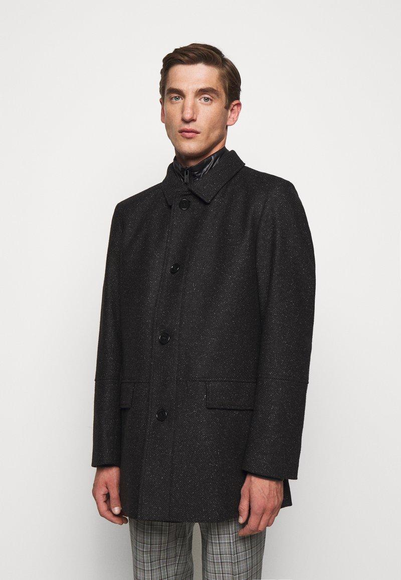 HUGO - BARELTO - Klasický kabát - black